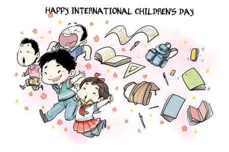 نقاشی درمورد روز جهانی کودک (5)