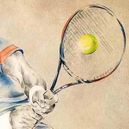 نقاشی درمورد ورزش و ورزشکاران (8)