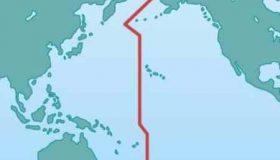 چرا خط بین المللی زمان کج است