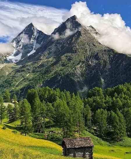 انشا عینی درباره کوه