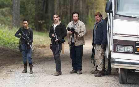 عکس بازیگران سریال The Walking Dead 12 عکس بازیگران سریال The Walking Dead