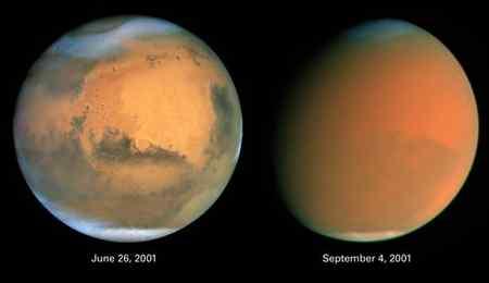 مریخ چند برابر زمین است