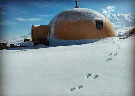 چرا اسکیموها خانه های خود را از یخ می سازند