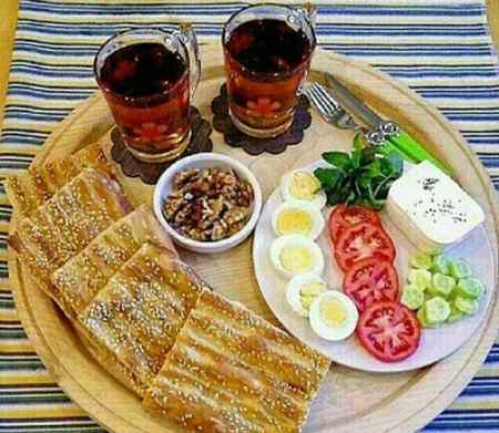 تزیین صبحانه برای مدرسه کودکان