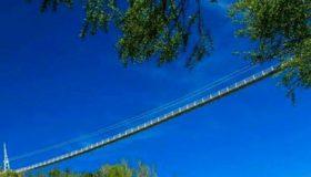 طولانی ترین پل معلق خاورمیانه