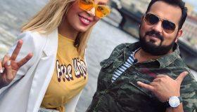 عکس ندا جناب و همسرش