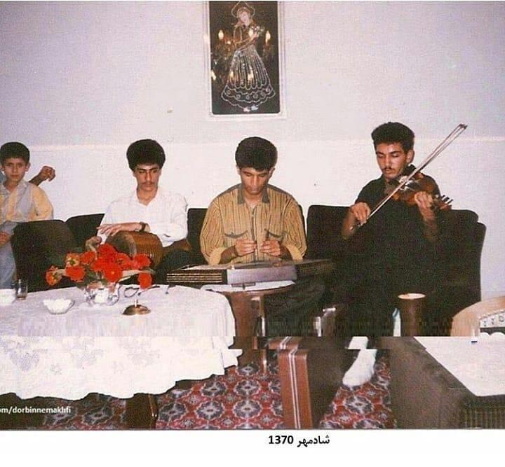 عکس قدیمی شادمهر عقیلی فارسیها