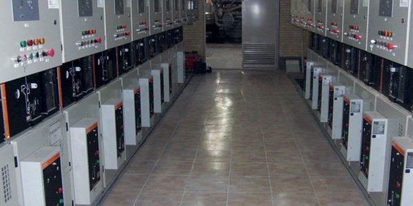 مراکز تولید برق با دیزل ژنراتور