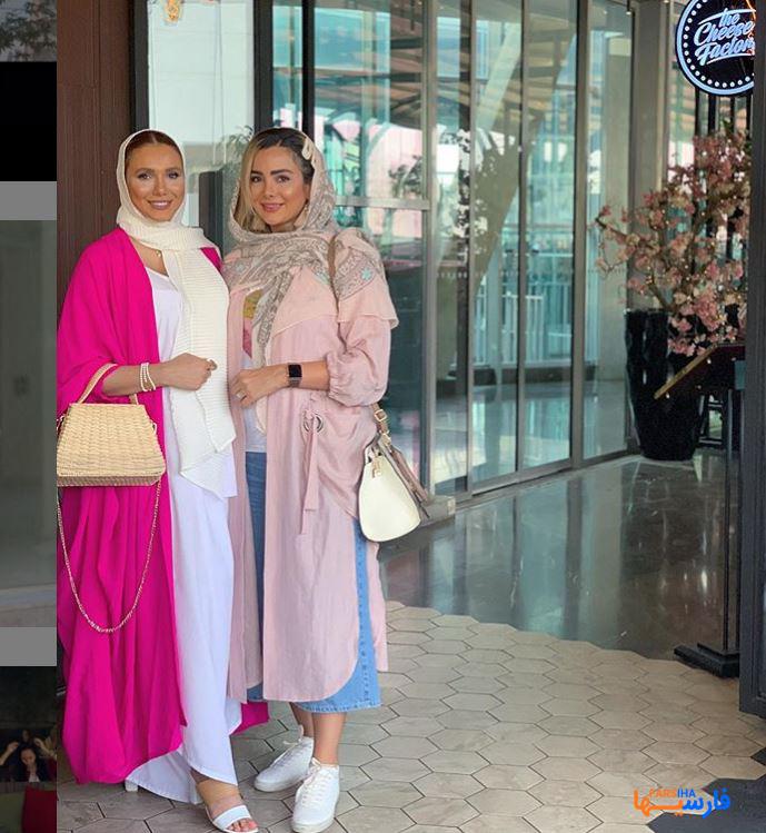 عکس های مدل خوش استایل و لاکچری بلاگر ایرانی ساناز رستم پور