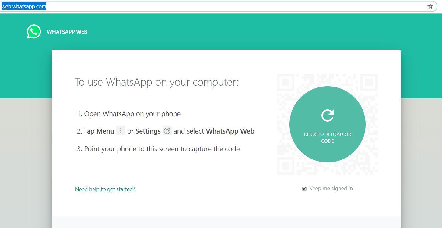 نسخه واتس آپ وب