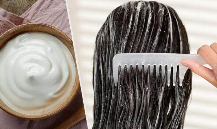 نرمی موها با استفاده از سس مایونز