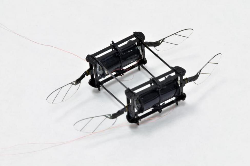 ساخت ربات پرنده ضدضربه