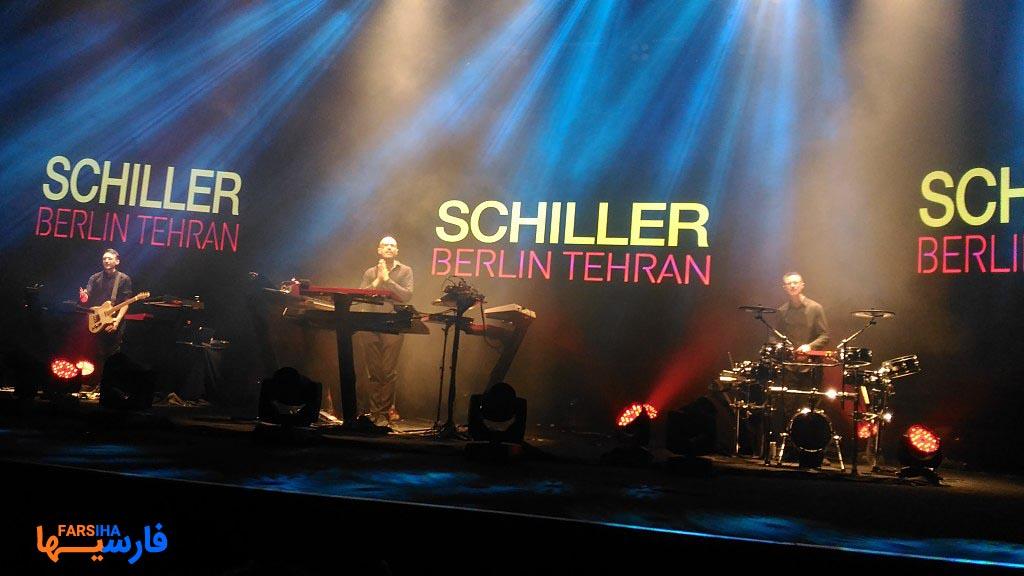 اجرای آهنگ برلین گروه شیلر در تهران