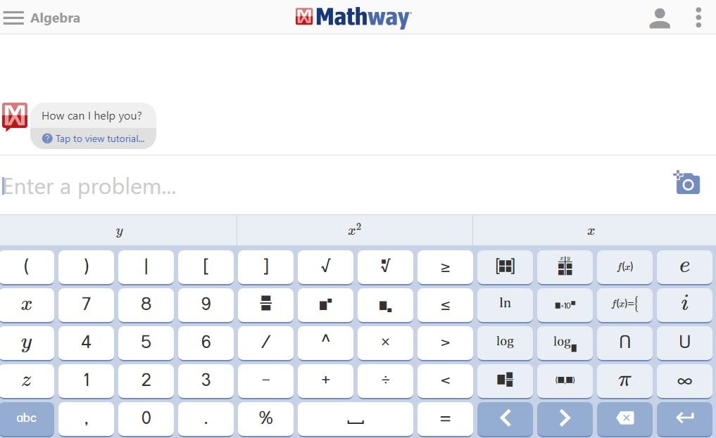 وبسایت mathway