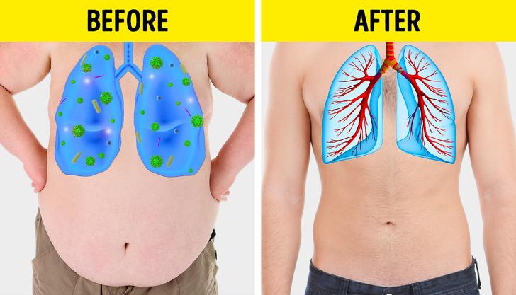 ۵ نشانه ای که می گویند ریه هایتان حالشان بد است