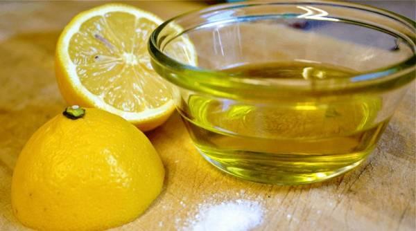 معجون لاغری با روغن زیتون و لیمو ترش