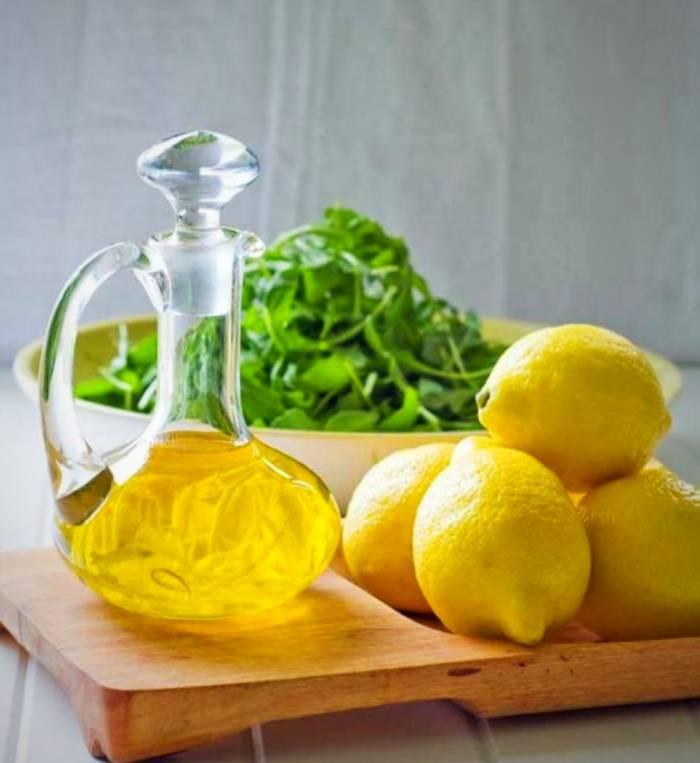 معجون لاغری با روغن زیتون و لیمو