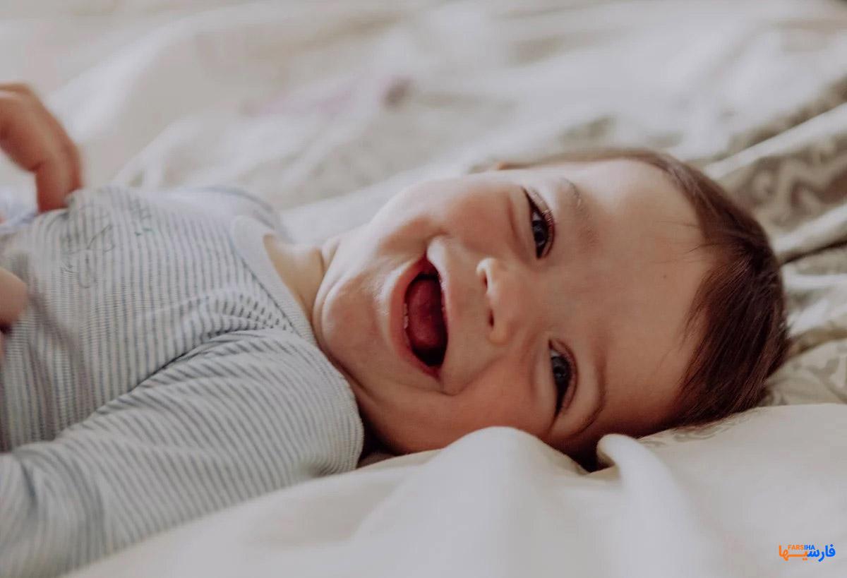 ارتباط شادی مادر زمان بارداری با سلامت نوزاد
