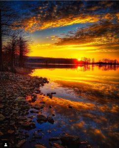 غروب آفتاب را در این عکسهای زیبا ببینید