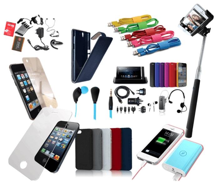 فروش لوازم جانبی موبایل