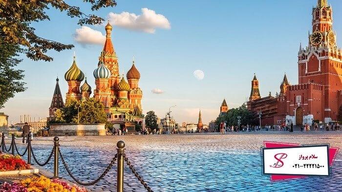 تور روسیه نوروز 99 ، بهترین زمان سفر به این کشور پهناور