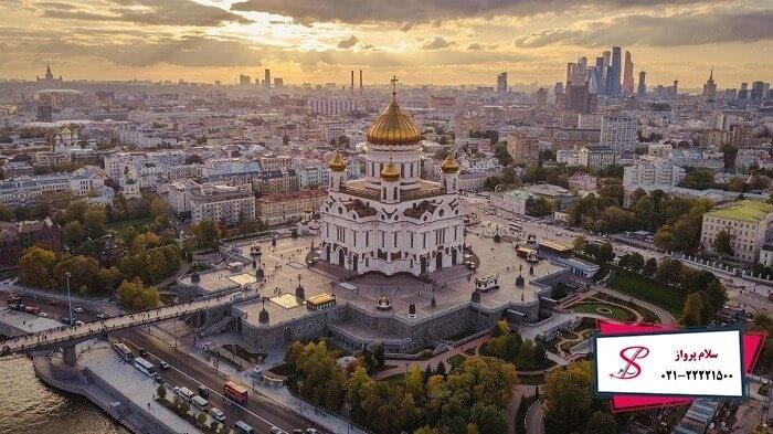 دیدنی ترین جاذبه های روسیه در نوروز
