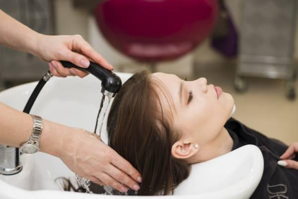 شستن مو بعد از رنگ
