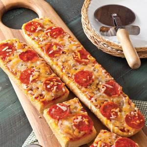 پیتزا با نان باگت