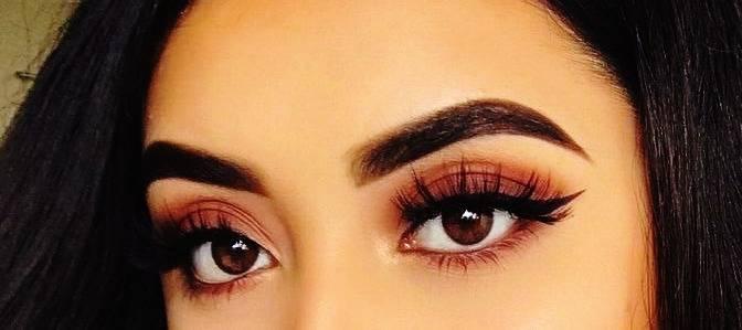 چشم قهوه ای
