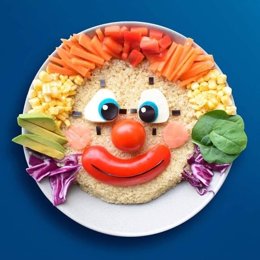غذا برای کودکان زیباتر کنیم