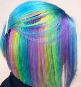 جدیدترین مدل رنگ مو فانتزی2020