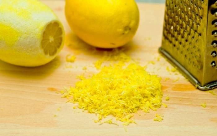 رنده کردن لیمو