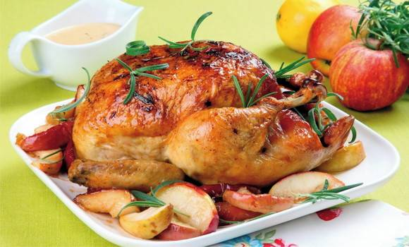 مرغ بریانی