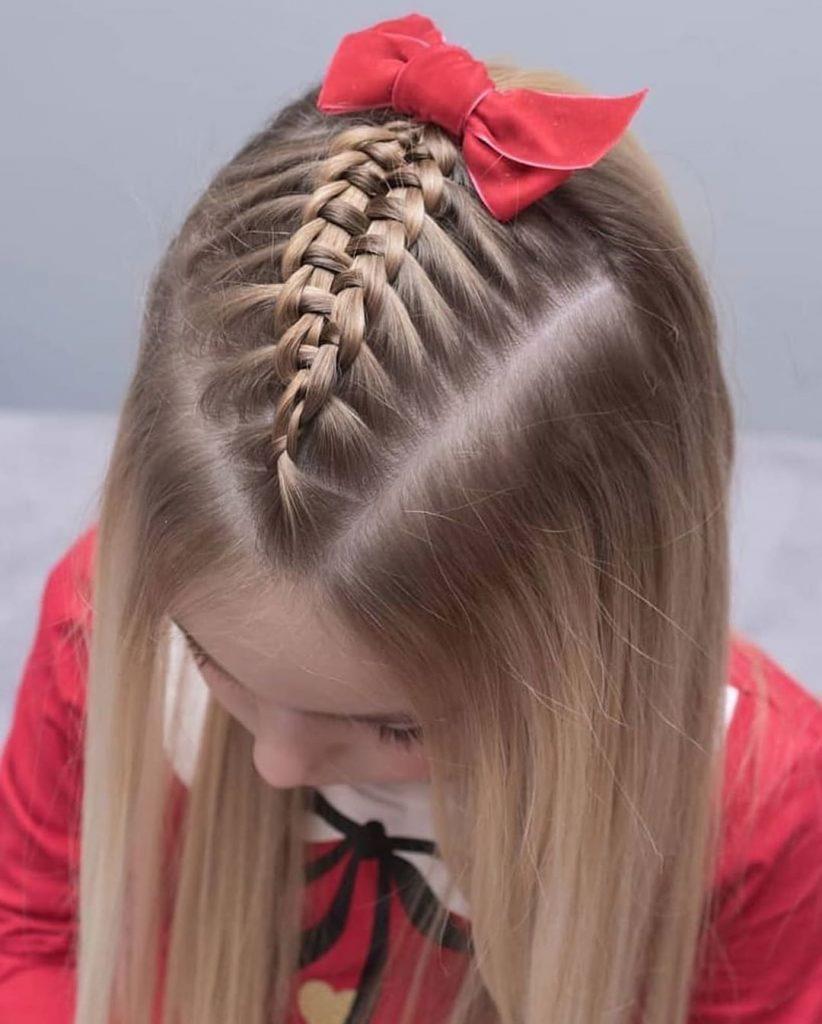بافت مو کودکانه و زیبا