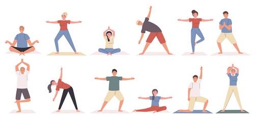 چند حرکت یوگا ساده برای آرمش و سلامتی
