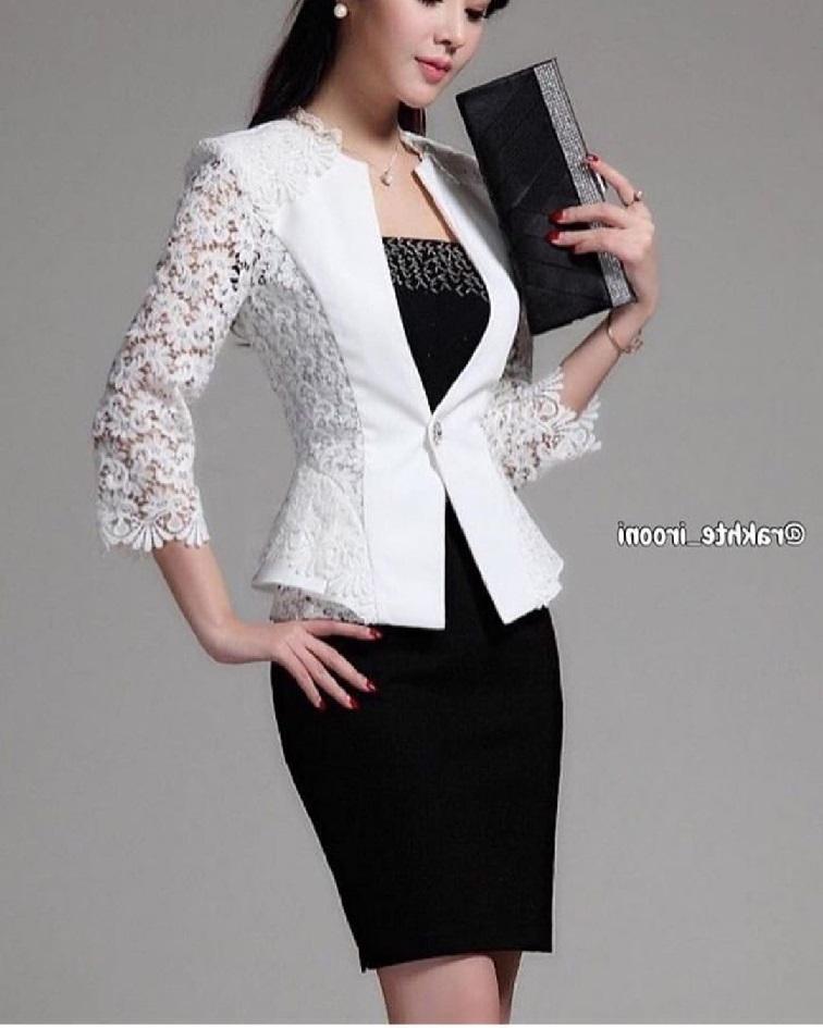 مدل های جدید کت و دامن زنانه