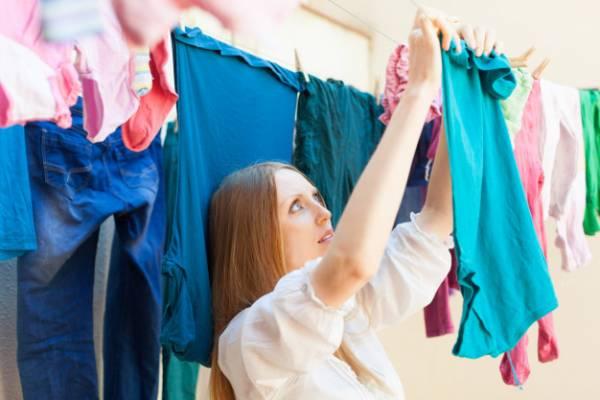 خشک کردن انواع لباس