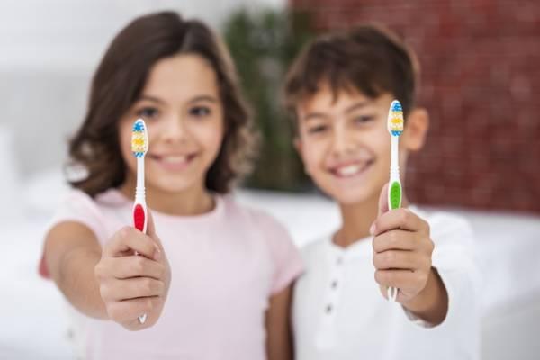 مسواک مناسب کودکان