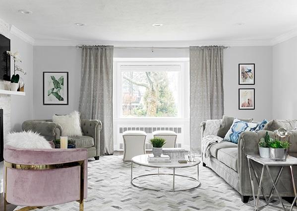 خانه هایی با دکور خاکستری