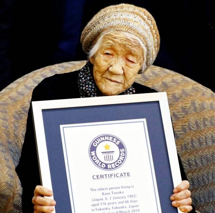 پیرترین زن زنده جهان