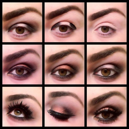 مدل های زیبا از آرایش چشم