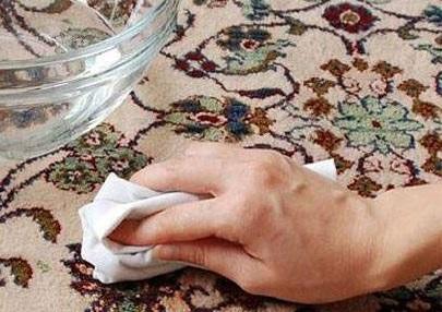 شامپو فرش های خانگی،راحت و به صرفه