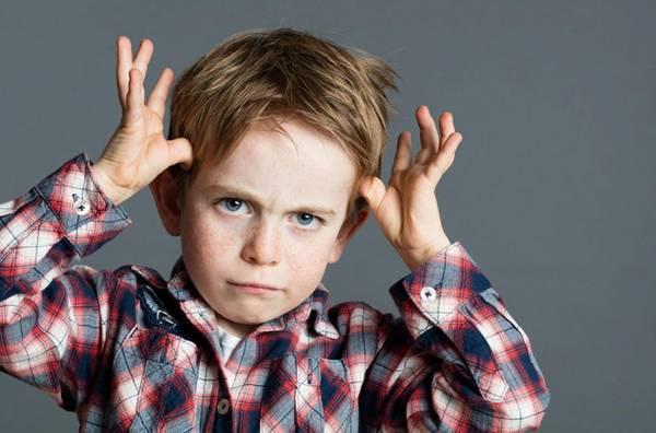 رفتار با کودک بی ادب