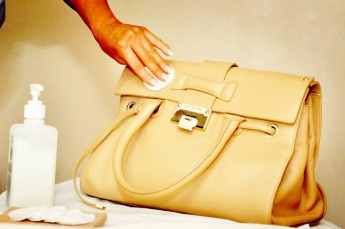 پاک کردن کیف چرم