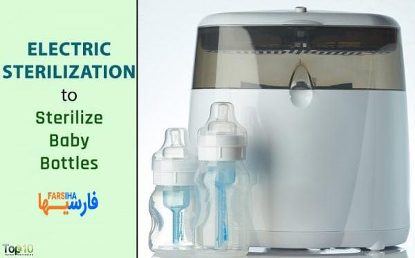 چطور شیشه شیر نوزادم را ضدعفونی کنم؟ • فارسی ها
