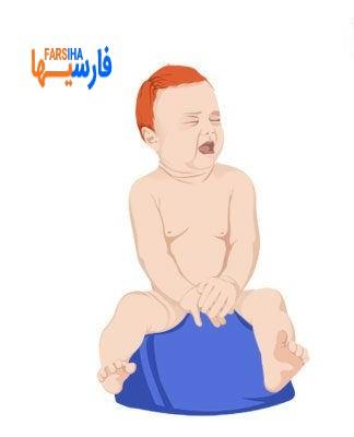 مشکل یبوست نوزاد
