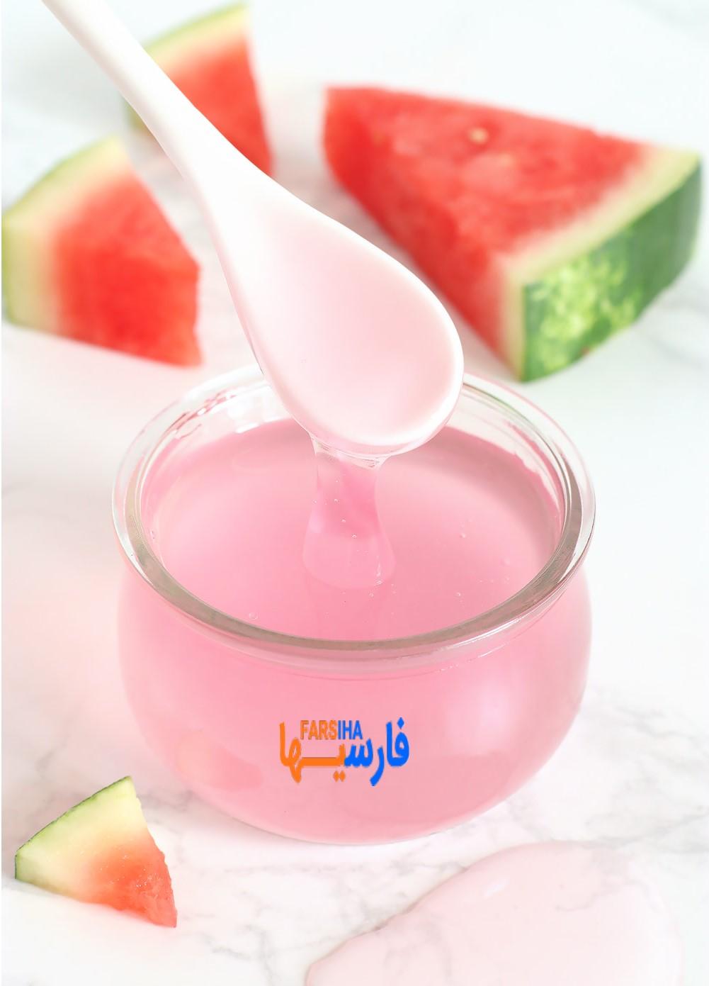 طرز تهیه ماسک هندوانه برای درخشان شدن پوست
