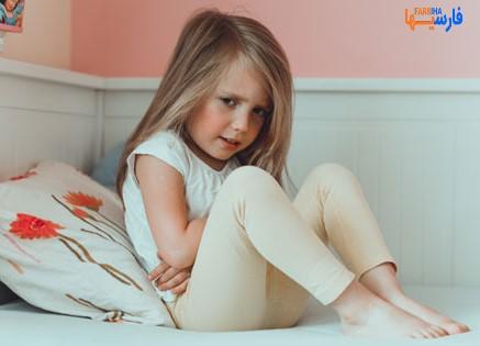 درمان حالت تهوع کودکان