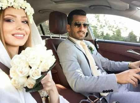 عکس عروسی احسان حاج صفی بازیکن تیم ملی