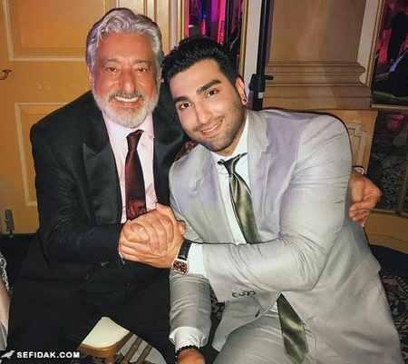 ابی و حسین تهی در مراسم عروسی رضا قوچان نژاد (1)